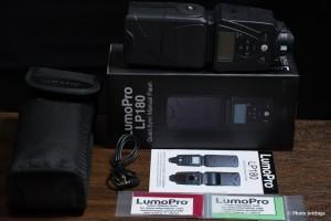 LumoPro LP180 flash